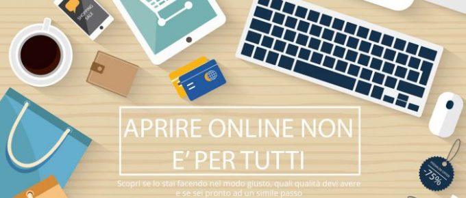 Aprire un'attività online