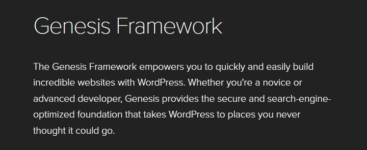 Creare un blog con Genesis Framework