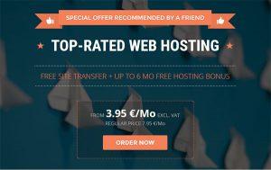 Offerta Siteground per creare un sito