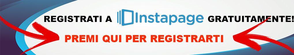 Registrati a Instapage e crea la tua Landing page