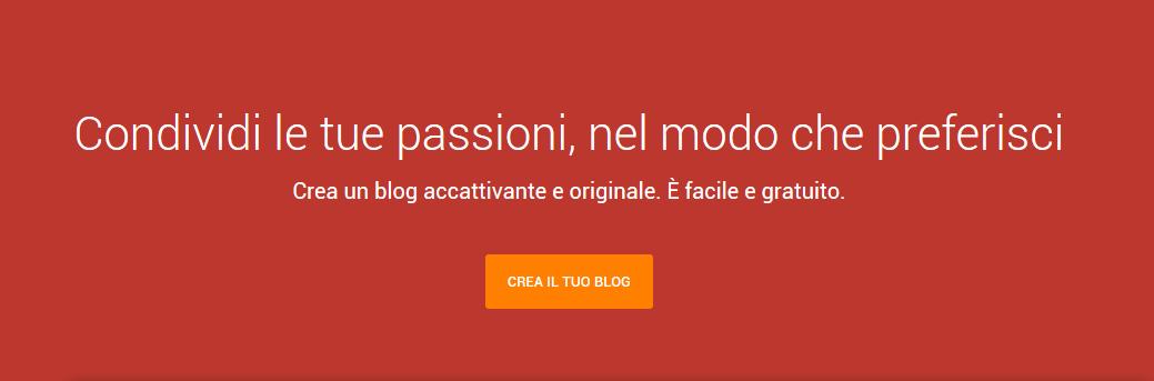 Creare un sito con blogger